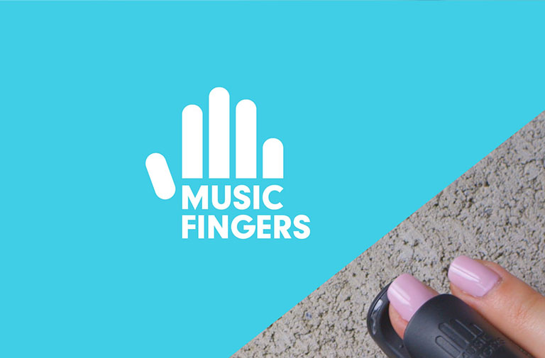 Best Kickstarter Video Production for Music Fingers Toy Musical Instrument Bluetooth App For Apple and Android Thumbnail