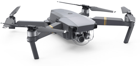 DJI Mavic Drone used in Video Kickstarter Productions
