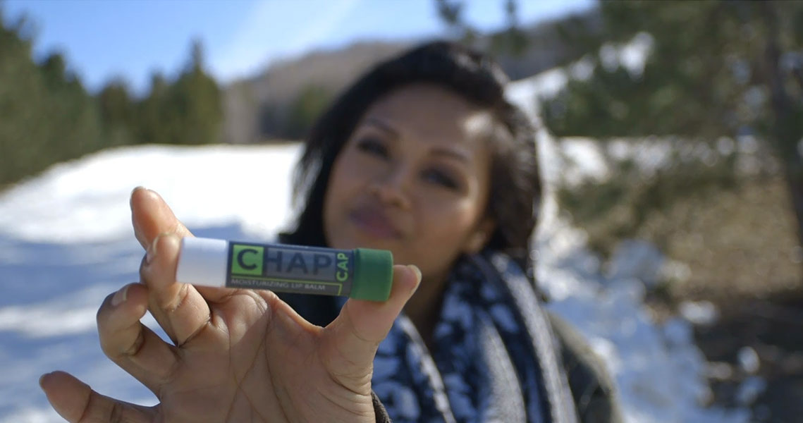 ChapCap Lipstick Lipbalm Sports Medicine Moisture Kickstarter Video Production