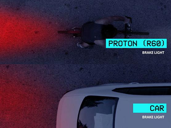 Best Kickstarter VIdeo Production Smart Bicycle Light Bike Night Provision Proton R60 Production Still