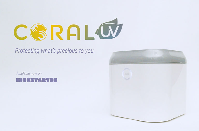 Top Kickstarter Video Coral UV Baby Bottle Sanitizer