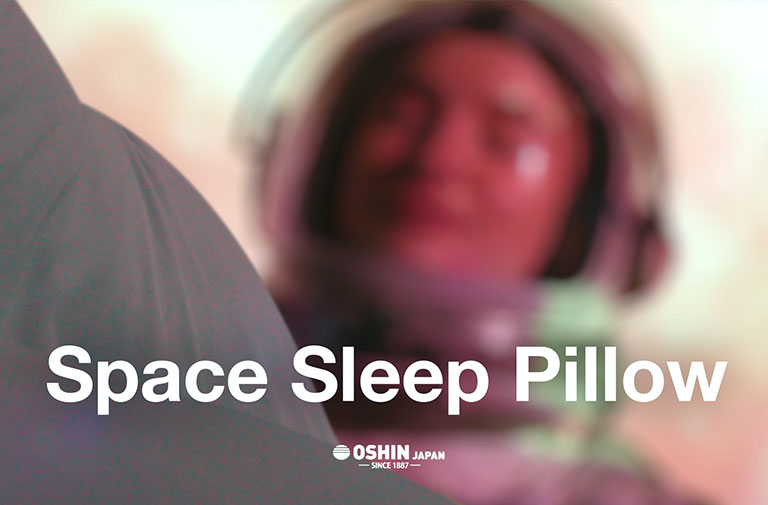 Best Kickstarter Video Production Space Sleep Pillow Astronaut